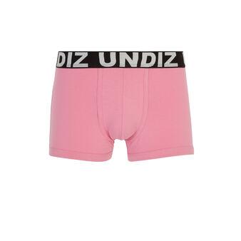 Technikiz粉色平角裤 pink.