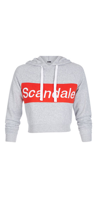 Sweat gris clair surdouiz grey.
