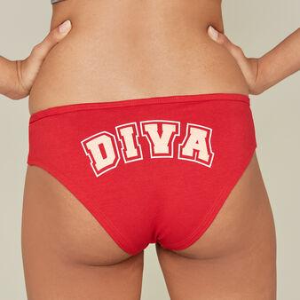 Gangastiz红色短款平角裤 red.