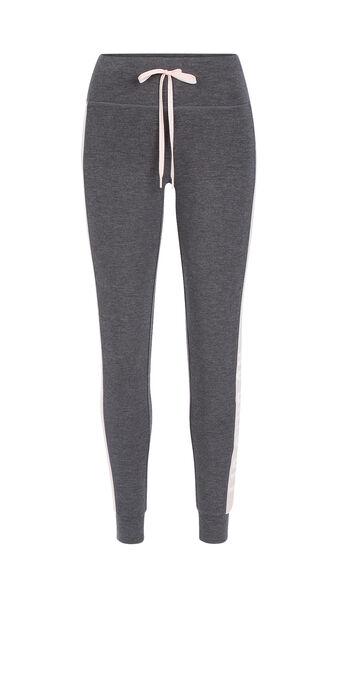 Loverunniz深灰色运动风紧身裤 grey.
