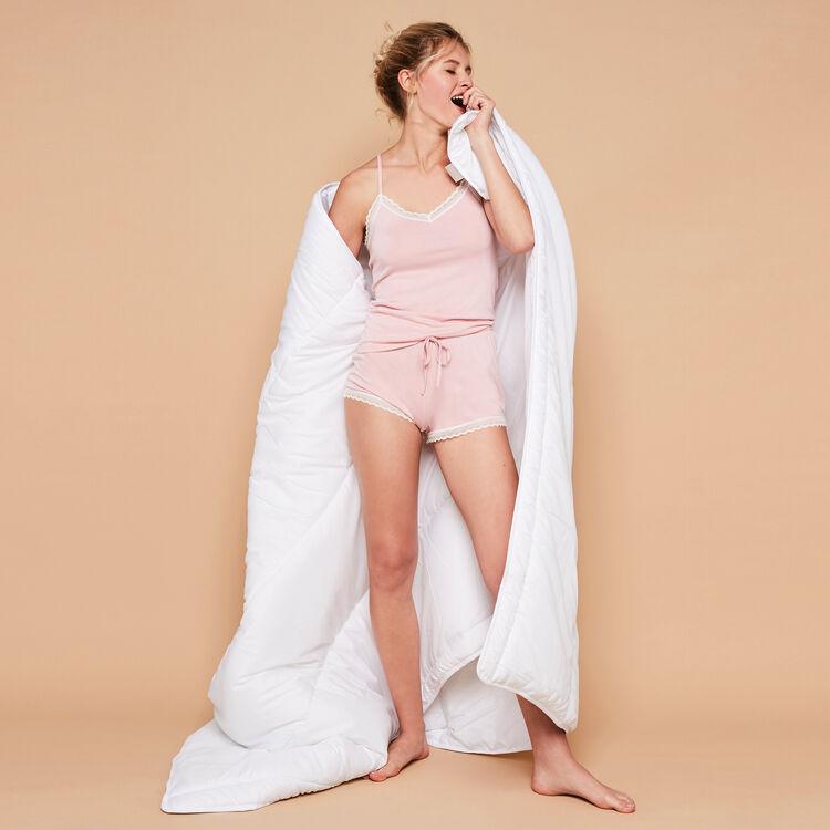 Sidevitamiz浅粉色短裤 rose.