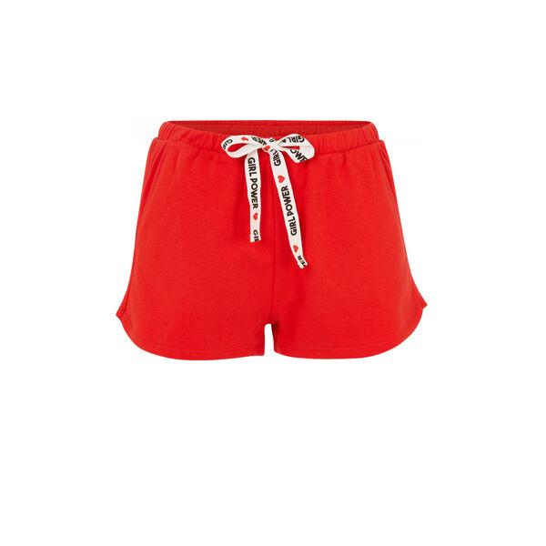 feminiziz红色短裤;
