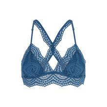 Triamiz蓝色三角形文胸  blue.