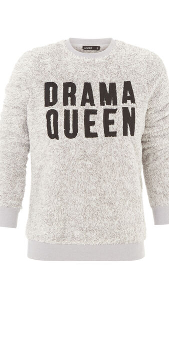 Dramiz灰色卫衣 grey.