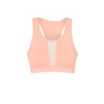 Brablockiz鲑鱼粉色运动内衣 pink.
