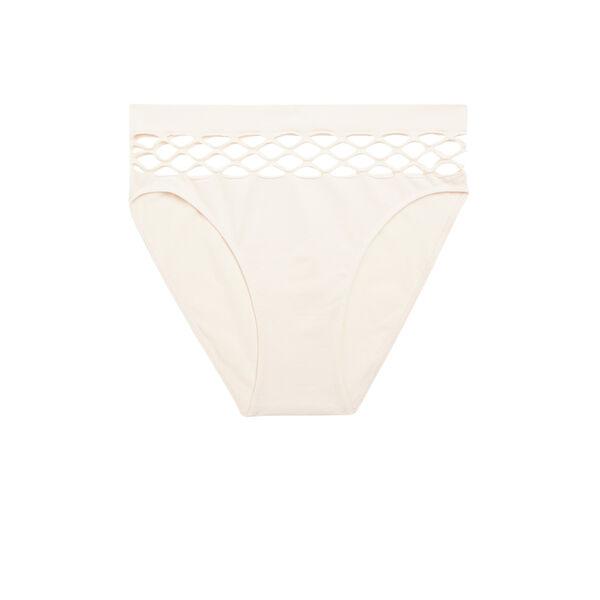 sekushiz浅粉色短款平角裤 ;
