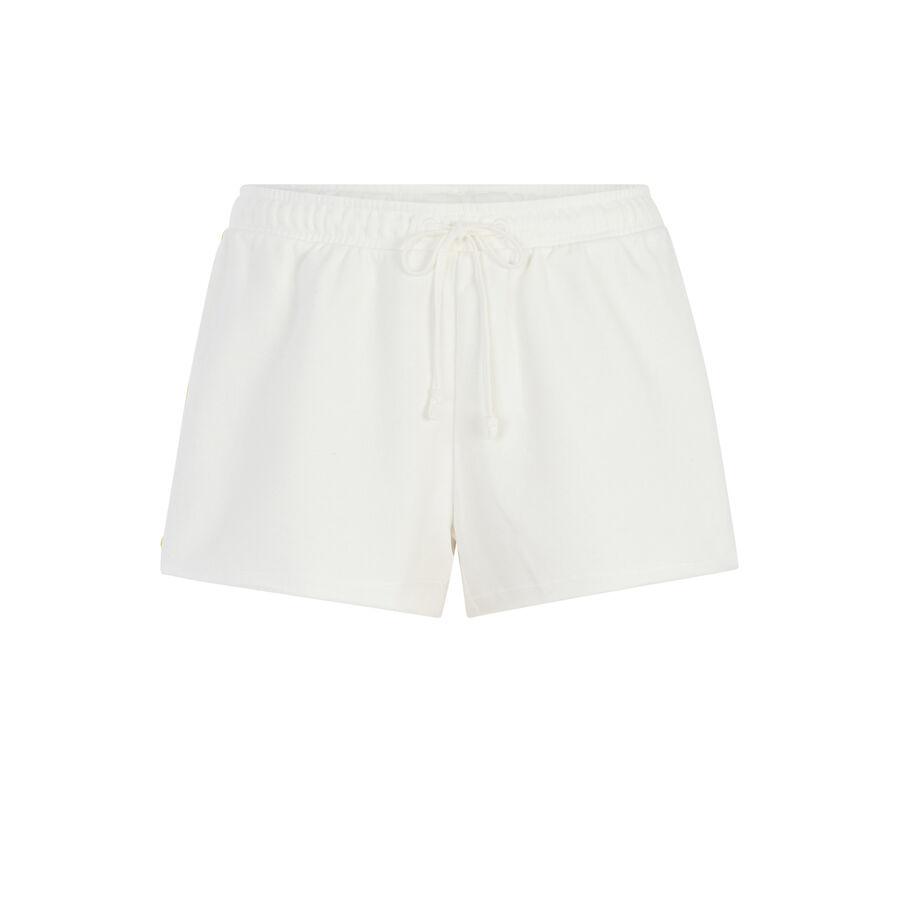 doudiz米白色短裤 ;