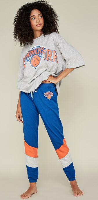 Newyorkniz蓝色慢跑裤 blue.