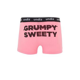 Loveriz粉色平角裤 pink.