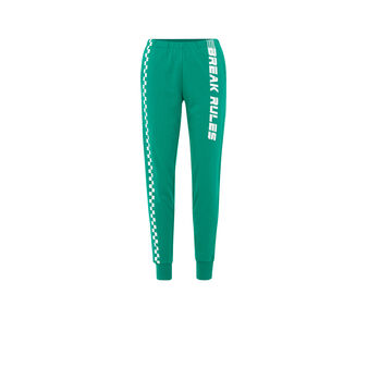 Furryiz绿色慢跑裤 green.