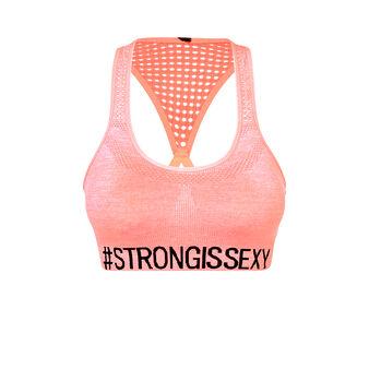 Becomiz 粉色运动文胸 pink.