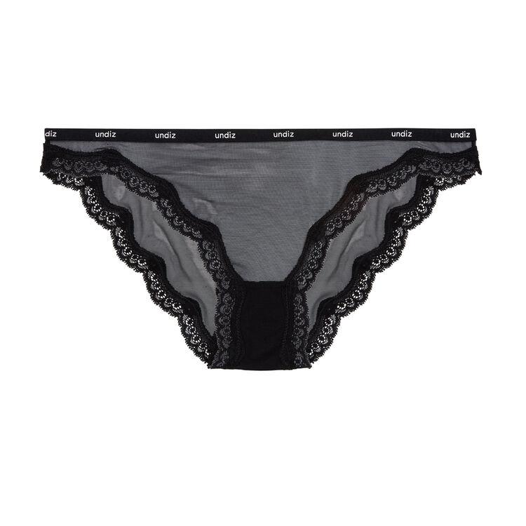 Veteriz黑色三角裤 black.