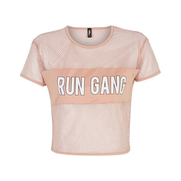 Resilliz粉色运动短裤。;