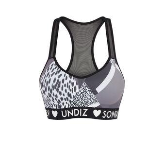 Fitnessiz 黑色运动背心式文胸 black.