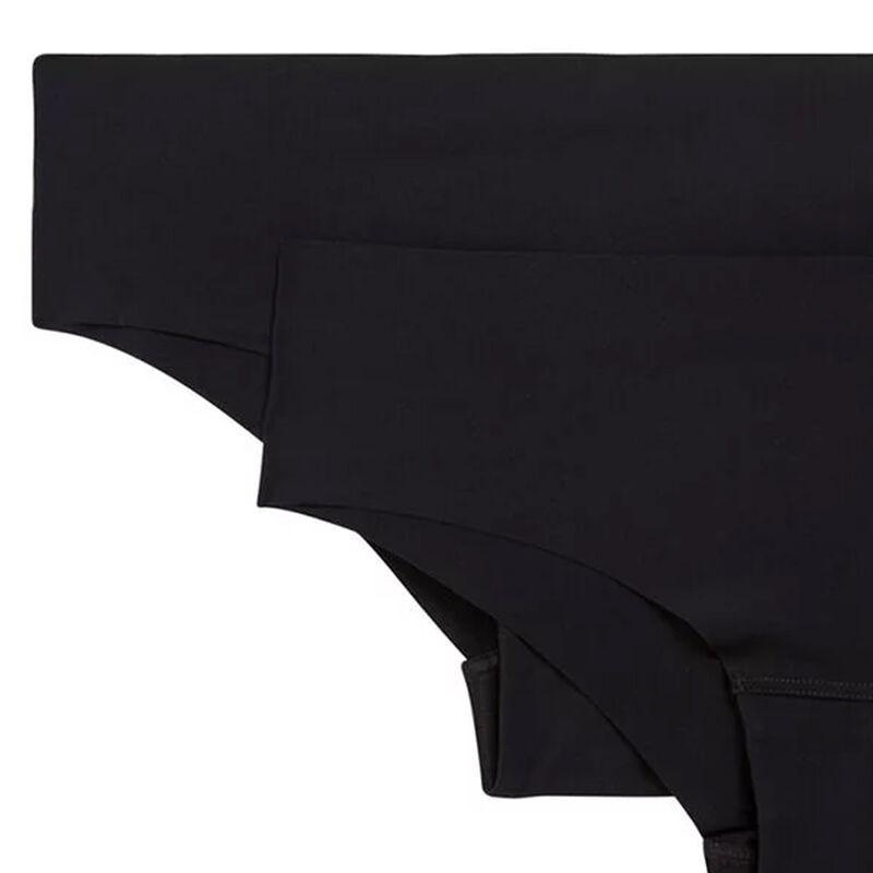 黑色微纤维无缝三角裤两条装 noir.