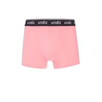 Loveriz粉色长款平角裤 pink.