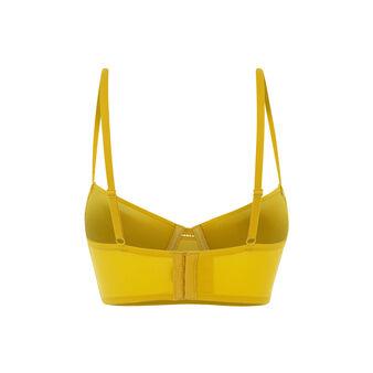 Guibeliz芥末黄调整型上托文胸 yellow.