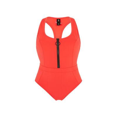 Superbodiz红色运动泳装 ;