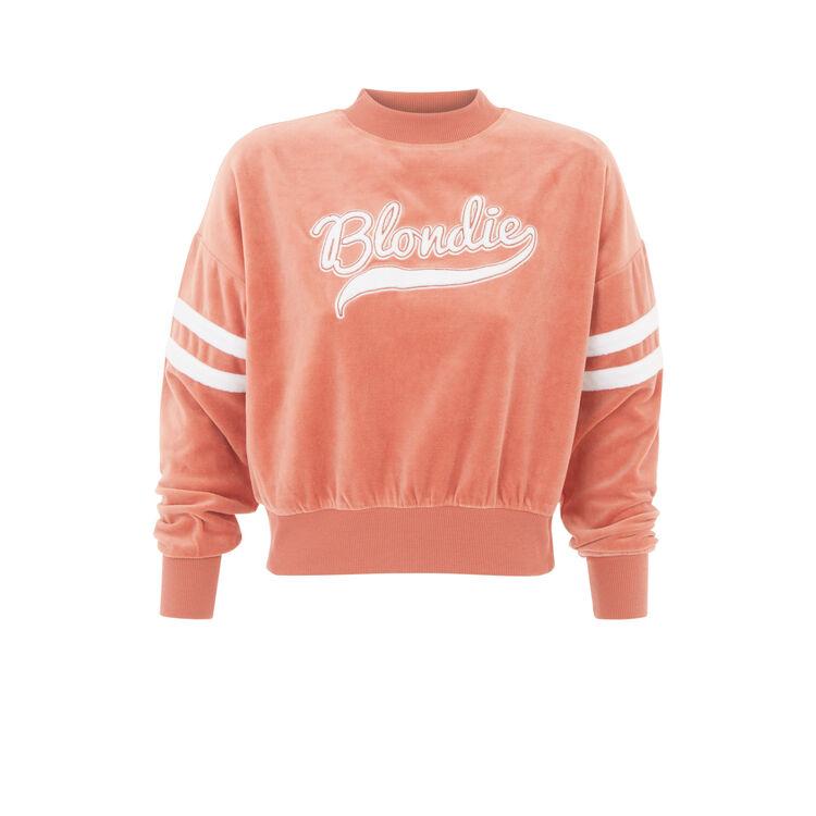 teamblondiz粉色卫衣;