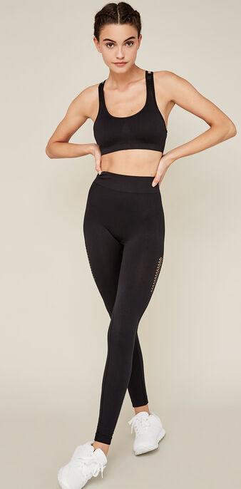 Seampantiz黑色打底裤 black.