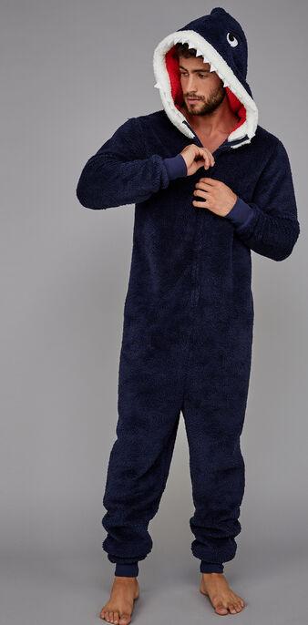 Sharkiz男款夜蓝色连体衣 blue.
