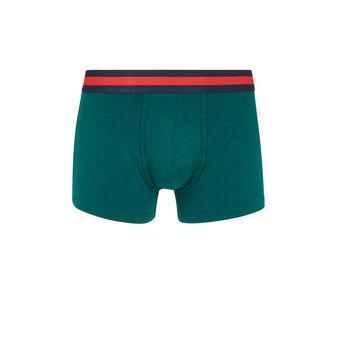 Oreliz绿色长款平角裤 green.