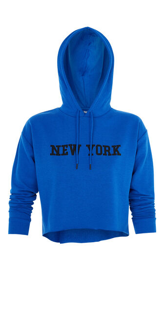 Newyorkiz蓝色卫衣 blue.