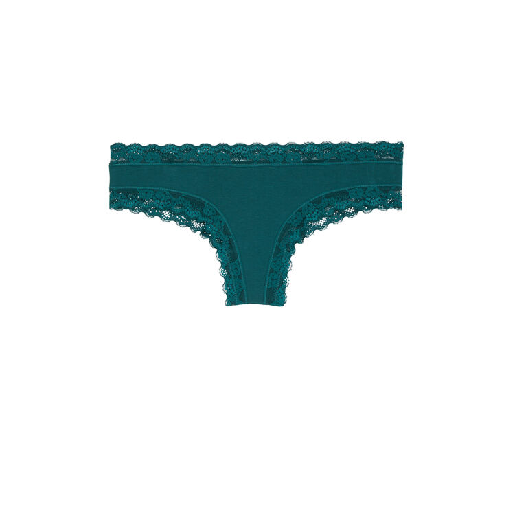 New skinny绿色短款平角裤 green.