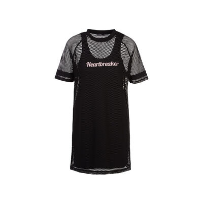 womadressiz黑色连身裙;
