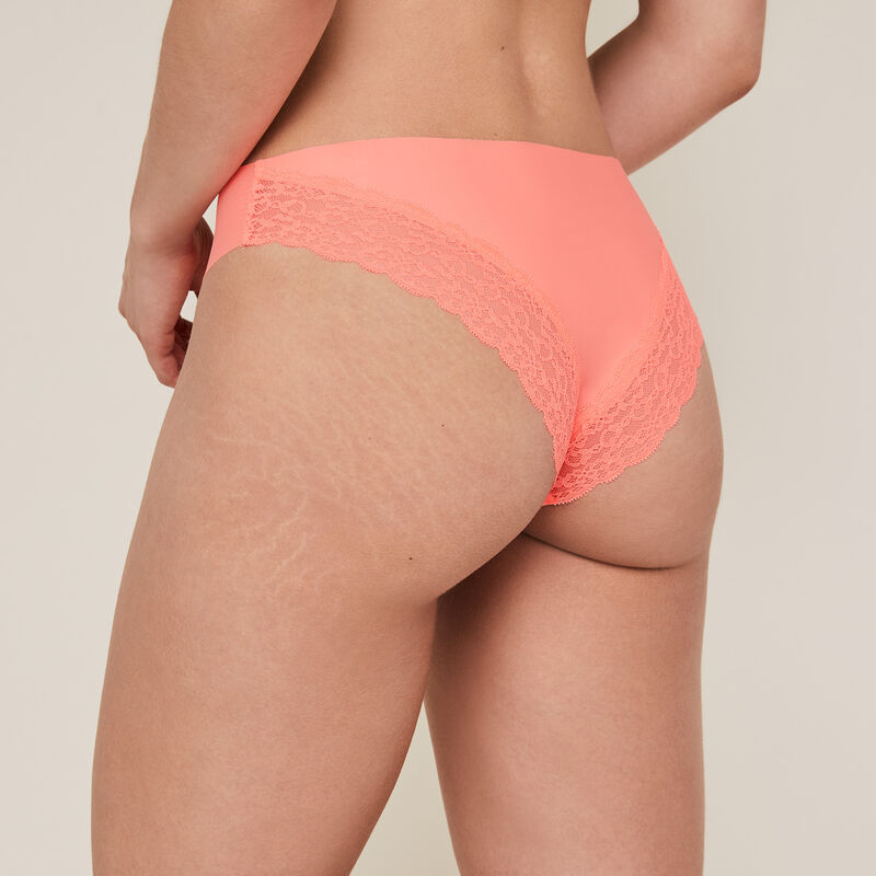 Shorty uni en micro - corail;