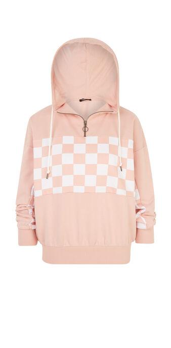 Racingiz淡粉色卫衣 pink.