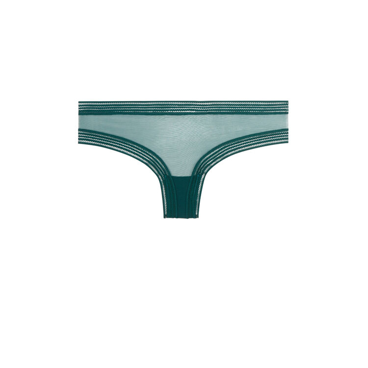 Wafiz绿色短款平角裤 green.