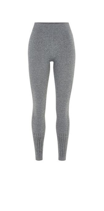 Seamtriz灰色紧身打底裤 grey.