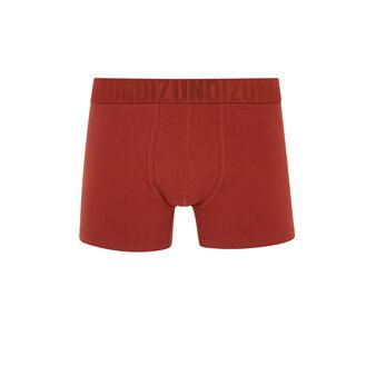 Oreliz红色平角裤 red.