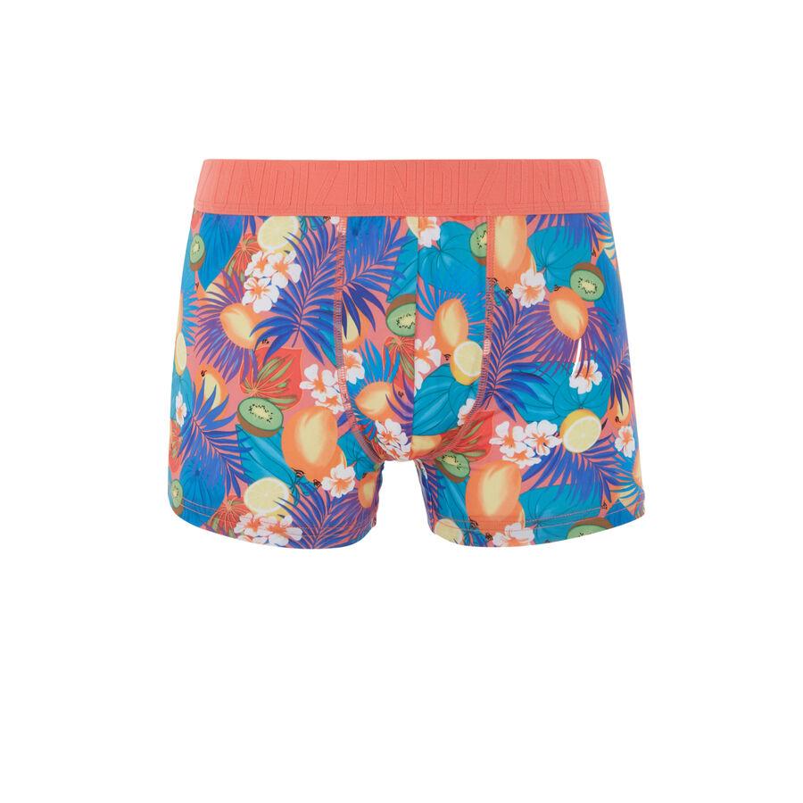 lituaniz珊瑚红平角裤 ;