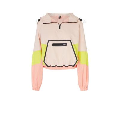 jacketiz粉色外套;